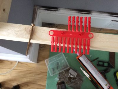 wal plug v screw length