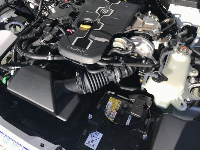 Fiat 124 Engine Bay