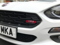 Fiat 124 Spider Grille Badge